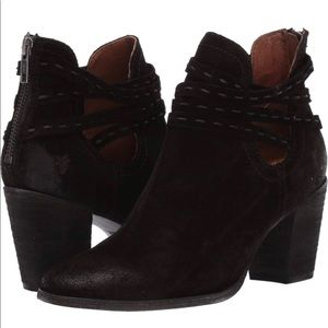 Sale! New Frye Naomi Pickstitch Shootie Boots 6.5
